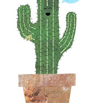 Freundlicher Kaktus von Suziebh