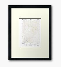 USGS TOPO Maps Iowa IA Red Oak North 20130412 TM Framed Print