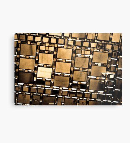 Mirrored Metal Print
