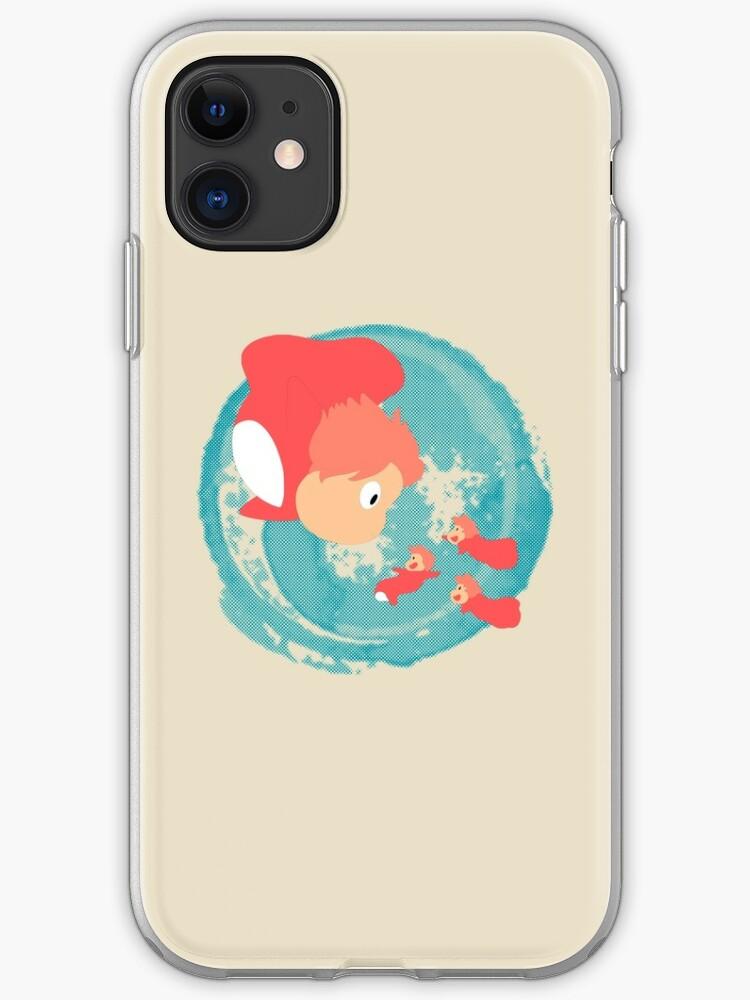 Ponyo sisters iphone case