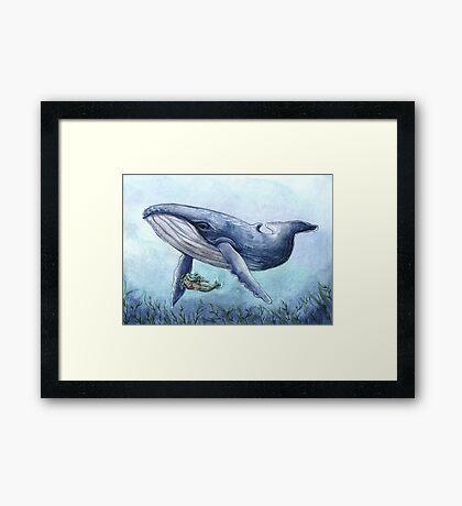 Aquatic Friends Framed Print
