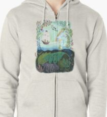 Peter comes to Neverland Zipped Hoodie