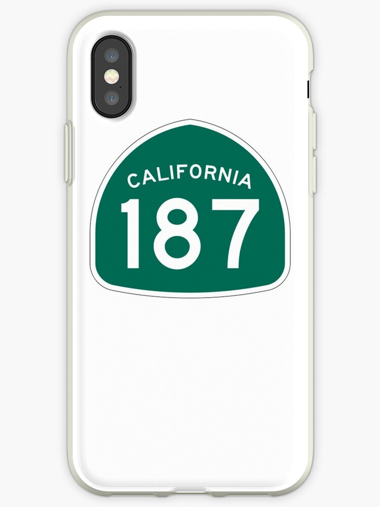 187 California Iphone Cases Covers By 3sred Redbubble
