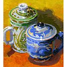 Two cups by David  Kennett