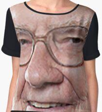 Warren Buffett Chiffon Top