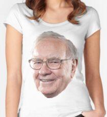 Warren Buffett Women's Fitted Scoop T-Shirt