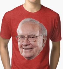 Warren Buffett Tri-blend T-Shirt
