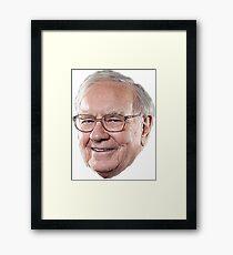 Warren Buffett Framed Print