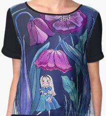 Alice through the Flowers Chiffon Top