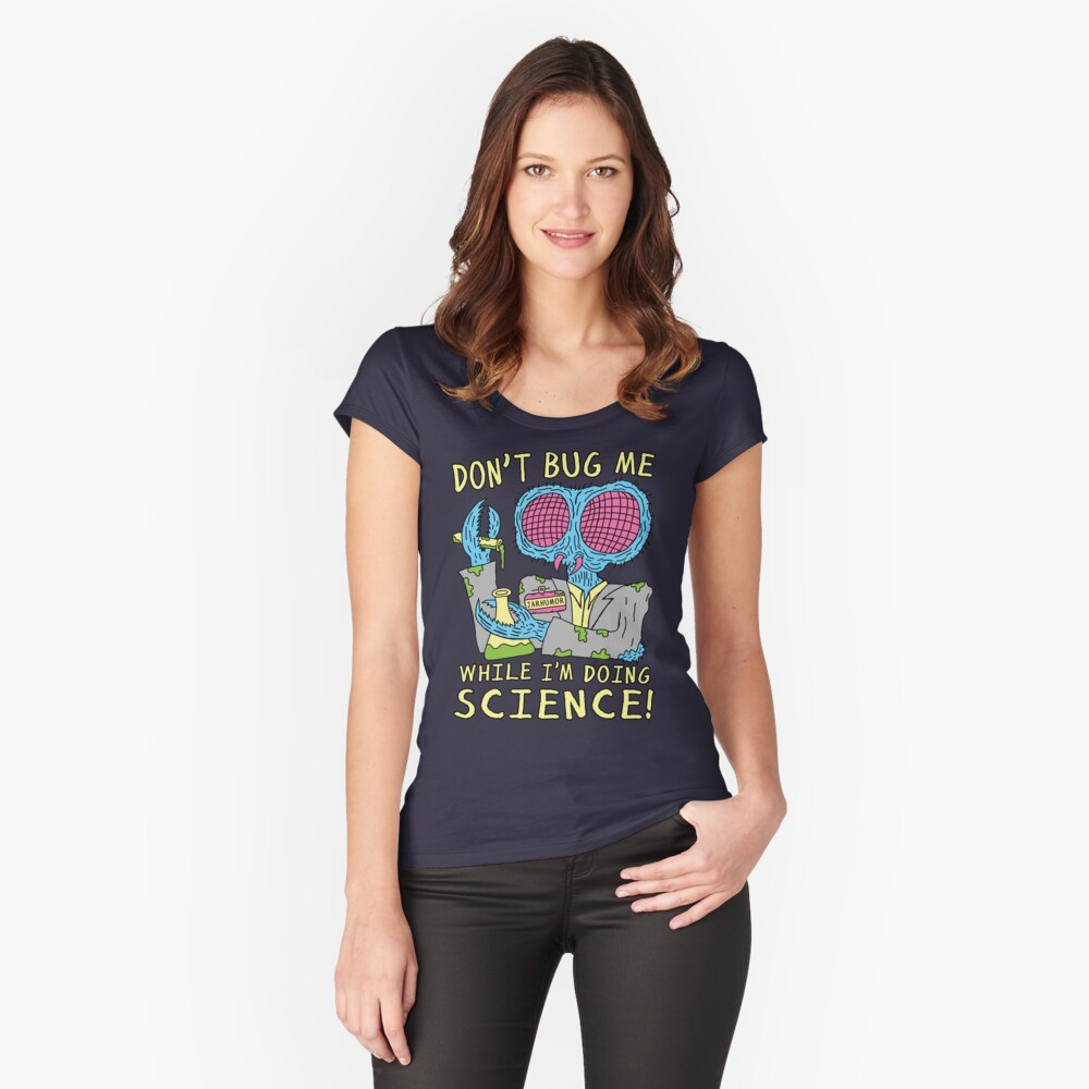 Bug Science Fitted Scoop T-Shirt