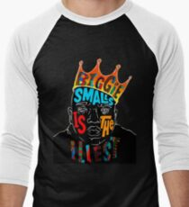BIGGIE SMALLS Men's Baseball ¾ T-Shirt