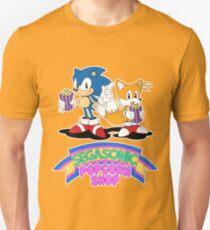 SEGASONIC Popcorn Shop Unisex T-Shirt