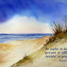 Heavenly Counsel- Romans 12:12 by Diane Hall