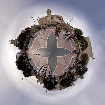Placa Catalunya (Day) by Oneof42