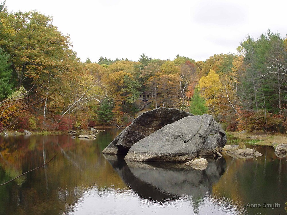 Rockhouse Pond by Anne Smyth