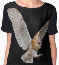 Barn Owl Attack Chiffon Top