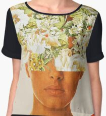 SuperFlowerHead Chiffon Top