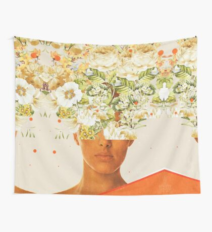 SuperFlowerHead Wall Tapestry