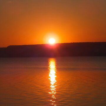 Reflecting on a Sunrise by rsobiera