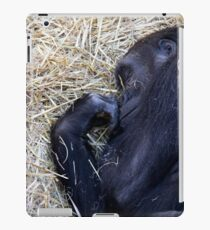 Gorilla Sleeping iPad Case/Skin
