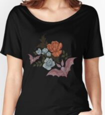 Botanical - moths and night flowers Women's Relaxed Fit T-Shirt