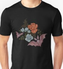 Botanical - moths and night flowers Unisex T-Shirt