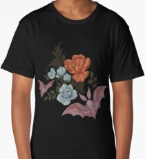 Botanical - moths and night flowers Long T-Shirt