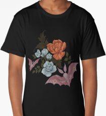 Botanical - moths and night flowers Long T-Shirt