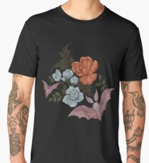 Botanical - moths and night flowers Men's Premium T-Shirt