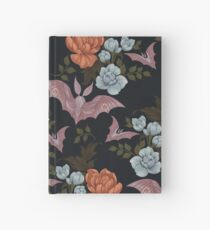 Botanical - moths and night flowers Hardcover Journal
