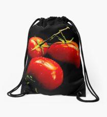 Fresh, ripe tomatoes! Drawstring Bag
