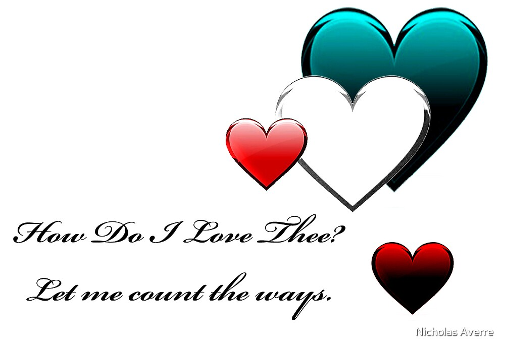 For my love  by Nicholas Averre