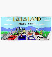La La Land - Another Day of Sun 8-bit Art Poster