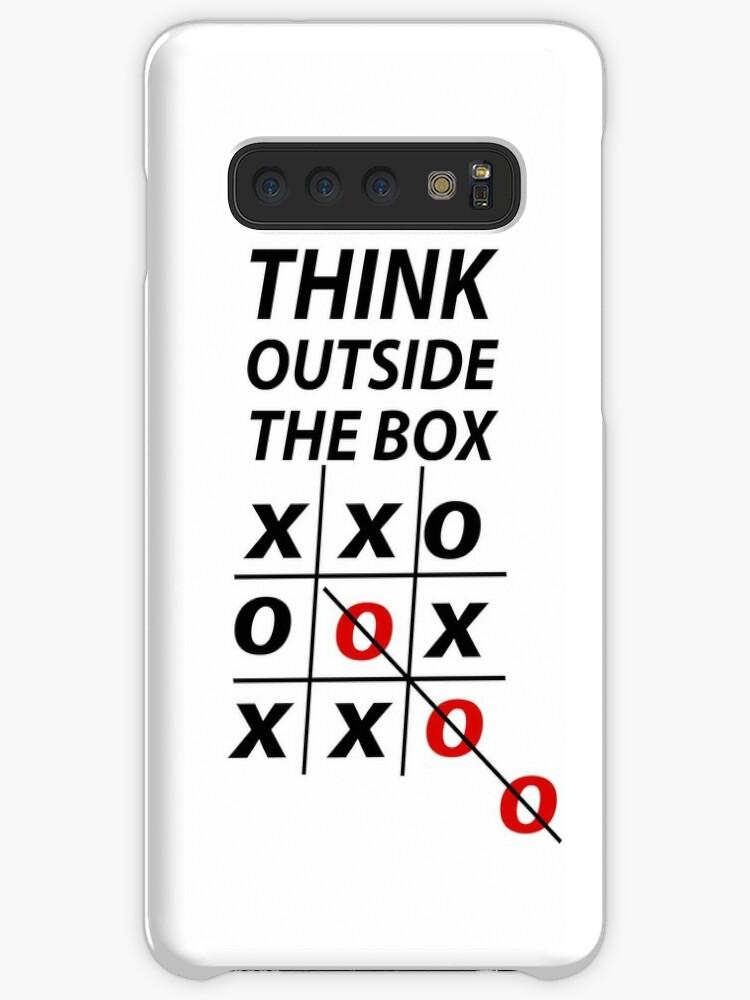 441f6ca918dd 'Think outside the box' Case/Skin for Samsung Galaxy by Milorad Brmbota