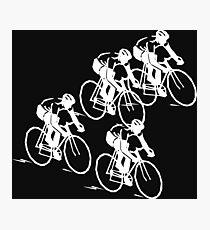 Bicycle Race Photographic Print