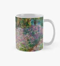 Irises In Monet's Garden At Giverny by Claude Monet Mug
