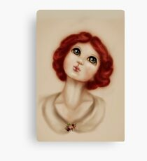 Miss Mabel Maude Character design for original fairy tale: Fairies of Versailles Canvas Print