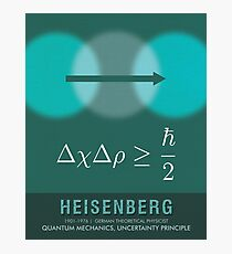 Science Posters - Werner Heisenberg - Theoretical Physicist Photographic Print