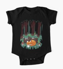 Resting Place for a Sleepy Fox One Piece - Short Sleeve