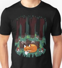 Resting Place for a Sleepy Fox T-Shirt