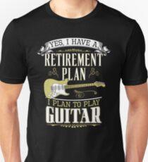 Guitar - Retirement Plan T-Shirt