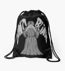 Don't Blink Weeping Angel Drawstring Bag