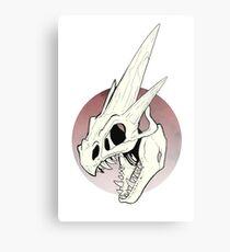 Pokemon - Mega Charizard Y Skull Metal Print