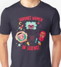 Support Women in Science T-Shirt