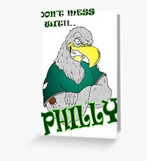 Philly Eagle Greeting Card