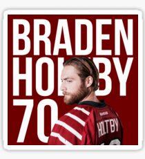 Braden Holtby Sticker