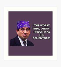 Prison Mike - Dementors T-Shirt Art Print