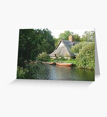 Cottage in Constable Country Greeting Card