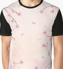 Cherry Blossom Dream Graphic T-Shirt