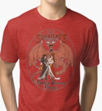 The Syndicate - Pocket Queens Pilsner Tri-blend T-Shirt
